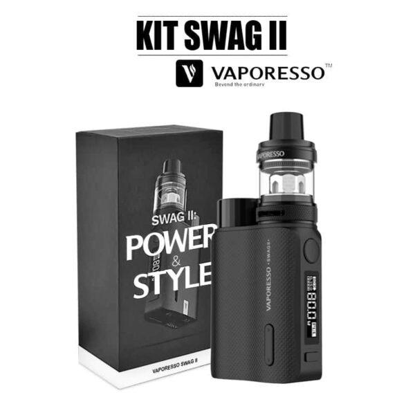 E-cigarette swag 2 vaporesso noir
