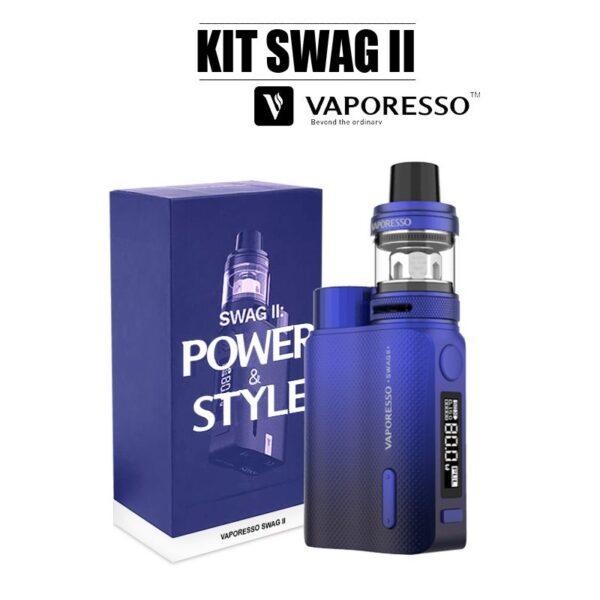 E-cigarette swag 2 vaporesso bleu