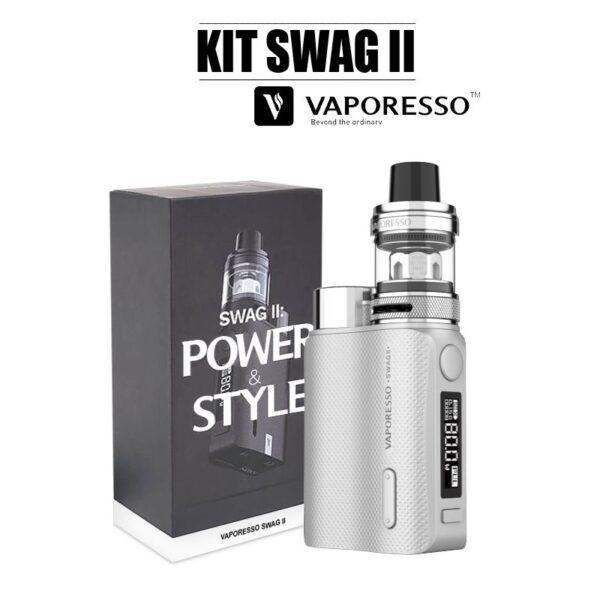 E-cigarette swag 2 vaporesso metal