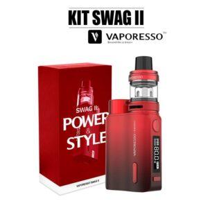 E-cigarette swag 2 vaporesso rouge