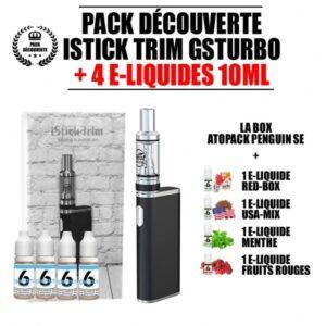 Kit E-liquide + E-cigarette iStick Trim GSTurbo