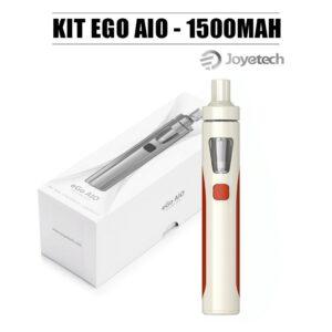 Kit Ego AIO Eco modèle 2020 couleur rouge crème Joyetech