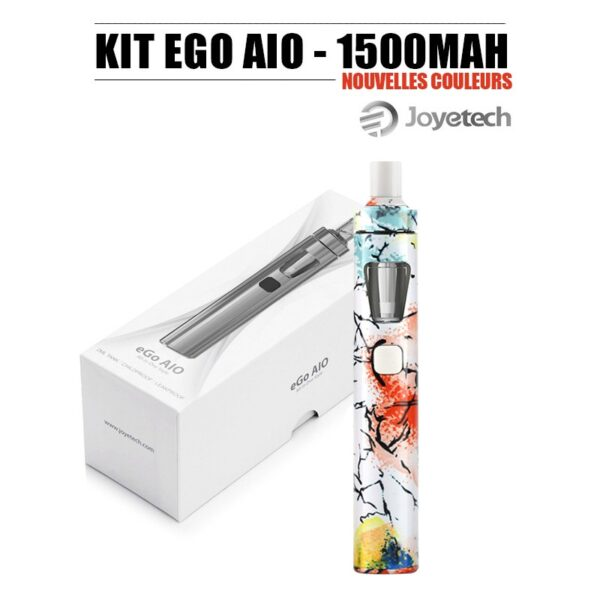 Kit Ego AIO Eco modèle 2020 prêt à vaper de Joyetech artistique