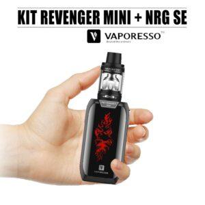 Kit Revenger Mini + Nrg Se de Vaporesso noir
