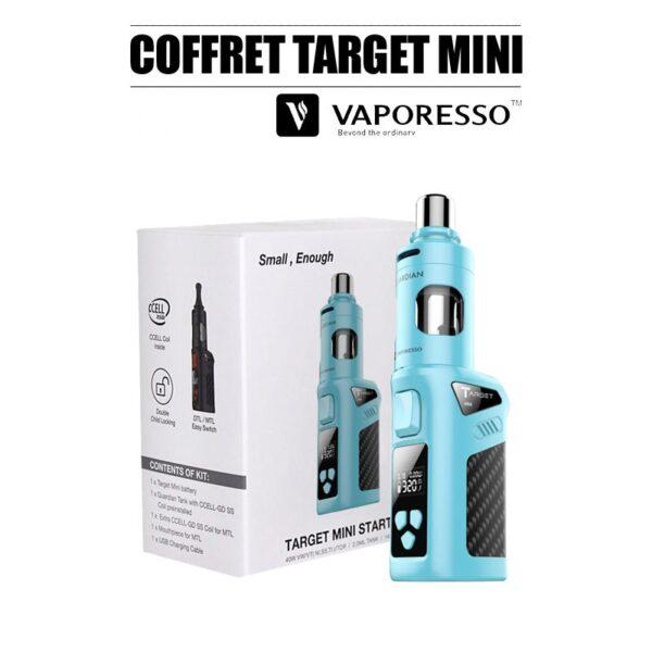 coffret target mini ful kit vaporesso bleu pas cher
