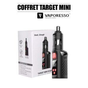 coffret target mini ful kit vaporesso noir pas cher