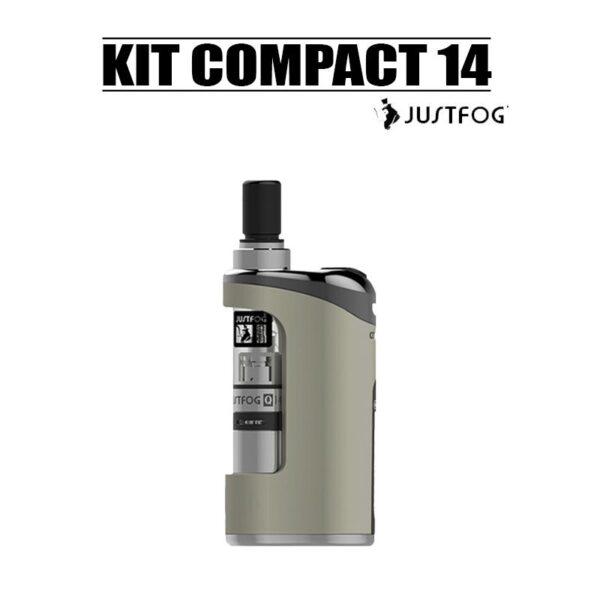 kit compact 14 1500mah Justfog métal pas cher