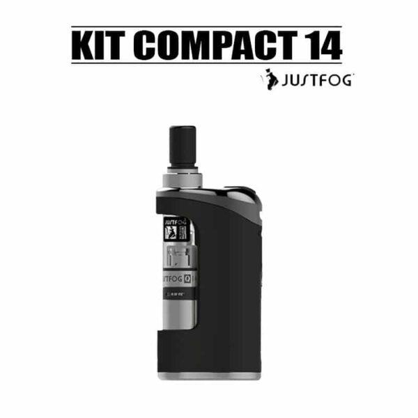 kit compact 14 1500mah Justfog noir pas cher