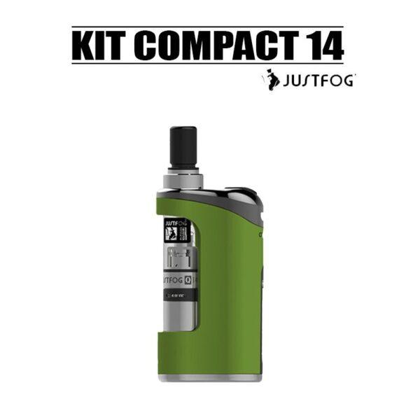 kit compact 14 1500mah Justfog vert pas cher