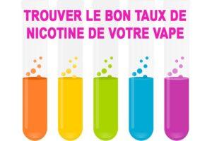 Dosage nicotine vape
