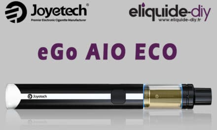 eGo AIO ECO Joyetech | Test de la cigarette électronique ultra portable