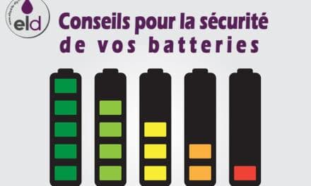 Batterie de cigarette électronique: 8 conseils pour votre sécurité
