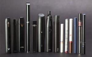 Il existe une grande variété de cigarettes électroniques