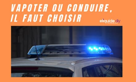Cigarette électronique au volant. Peut-on vapoter en conduisant ?