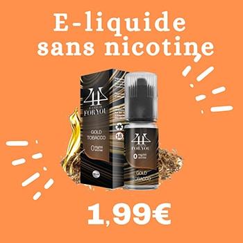 eliquide sans nicotine pas cher