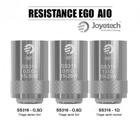 Pack de 5 résistances EGO AIO - Joyetech