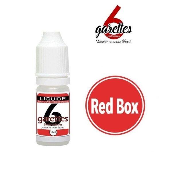e liquide mlb Red Box pas cher 6garettes.