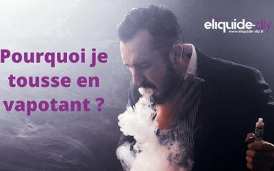 Pourquoi la cigarette électronique me fait tousser  ?