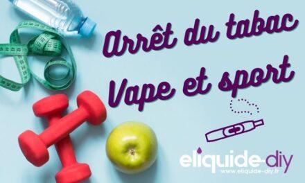 Cigarette électronique et exercice physique après l'arrêt du tabac