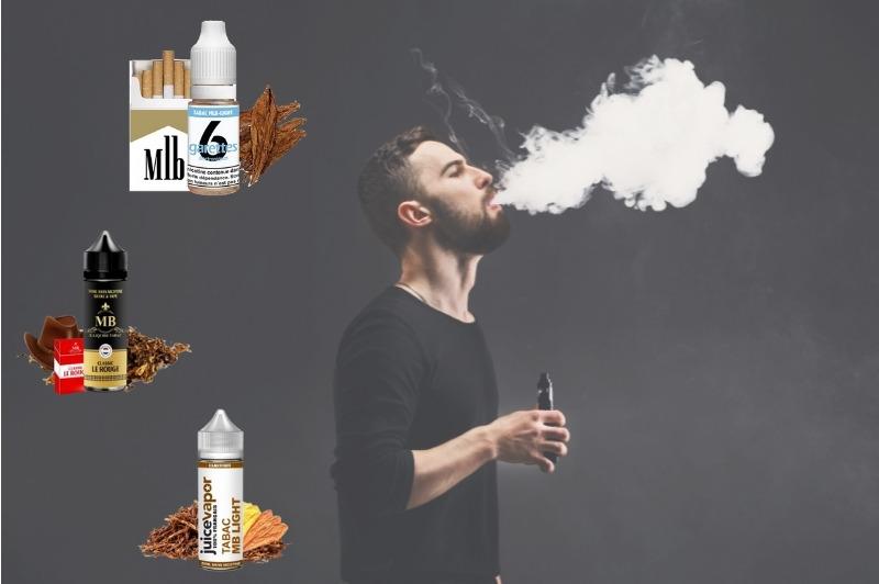 Eliquides saveur tabac marlboro