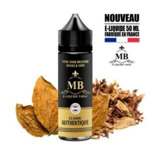 e liquide tabac classic authentique pas cher MB